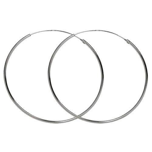 Troli Náušnice stříbrné kruhy 45 mm 431 154 00062