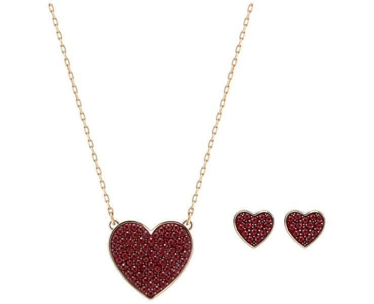 Swarovski Sada náhrdelníku a náušnic CUPID 5198937