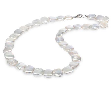 JwL Jewellery Náhrdelník z pravých čtvercových perel JL0180