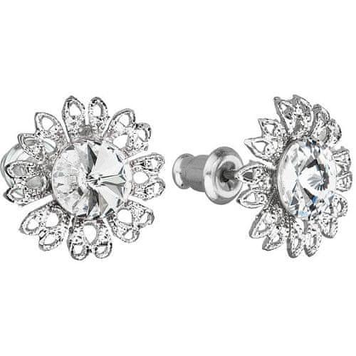 Troli Náušnice Ancient Flowers Crystal
