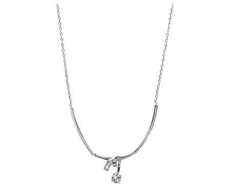 Silver Cat Stříbrný náhrdelník se zirkony SC204