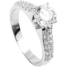 Brilio Silver Stříbrný zásnubní prsten 5170675 stříbro 925/1000