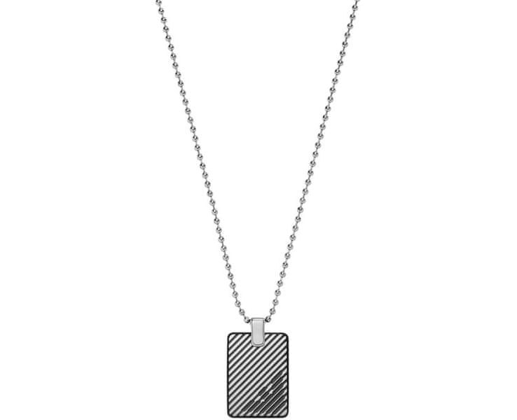 Emporio Armani Pánský ocelový náhrdelník EGS2180060