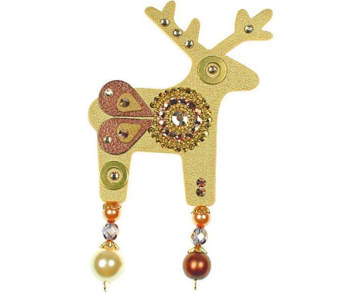 Deers Velký zlatý jelínek Confetti