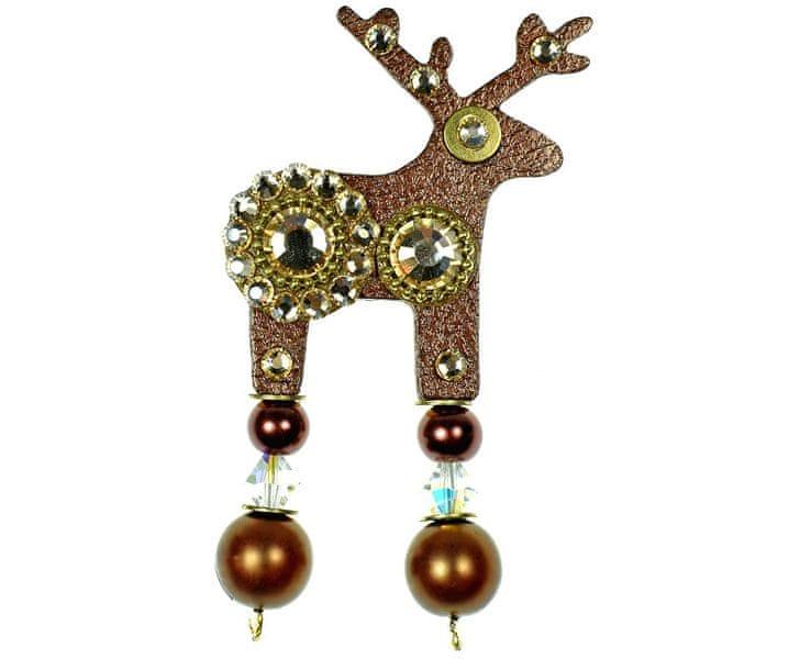 Deers Malý hnědý jelínek Flowík
