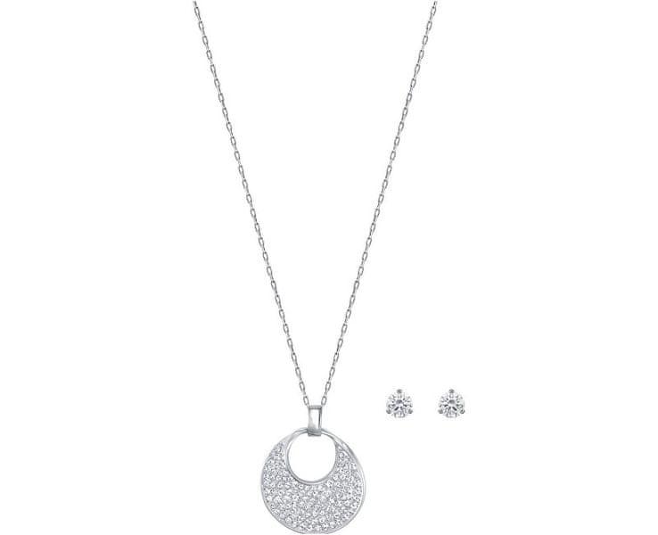 Swarovski Sada náušnic a náhrdelníku Freedom 5253006
