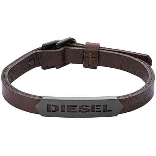 Diesel Pánský kožený náramek DX1001001
