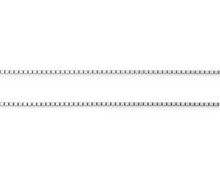 Troli Stříbrný řetízek Kostičky 471 086 00039 04 (Délka 50 cm)