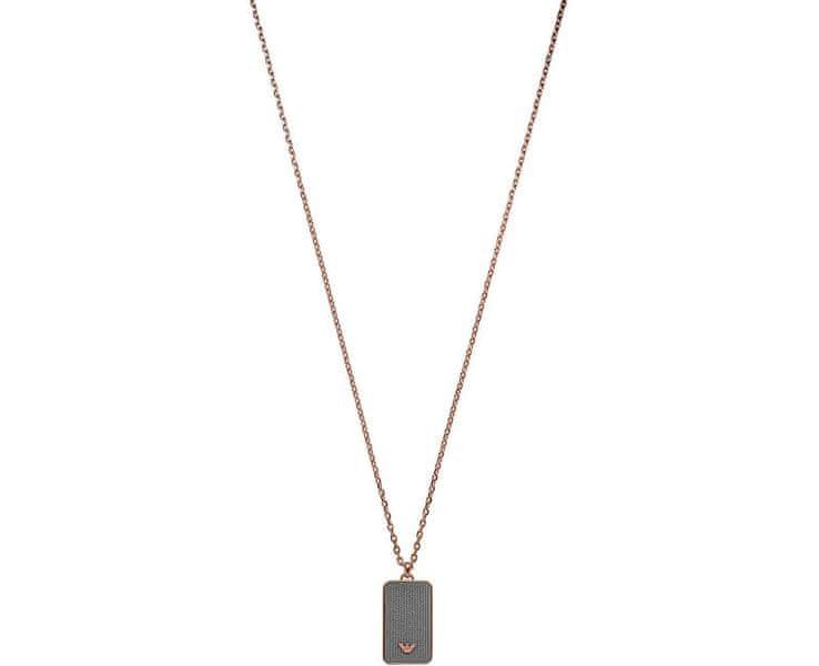 Emporio Armani Pánský ocelový náhrdelník EGS2222221
