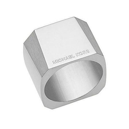 Michael Kors Masívny oceľový prsteň MKJ5932040 (Obvod 59 mm)