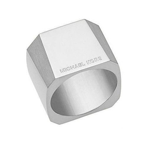 Michael Kors Masivní ocelový prsten MKJ5932040 (Obvod 56 mm)