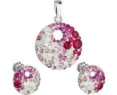 Evolution Group Elegantná súprava šperkov Sweet Love 39148.3