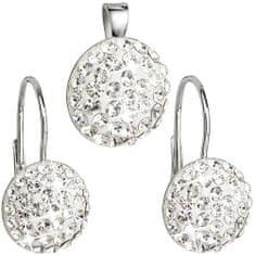Evolution Group Sada šperkov s kryštálmi Swarovski 39086.1