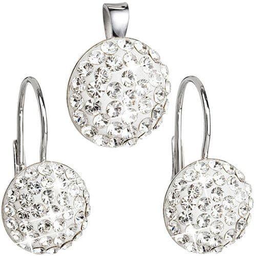 Evolution Group Sada šperků s krystaly Swarovski 39086.1