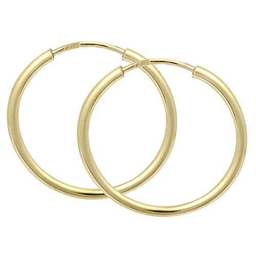Brilio Náušnice zlaté kruhy 231 001 00278 - 1,10 g