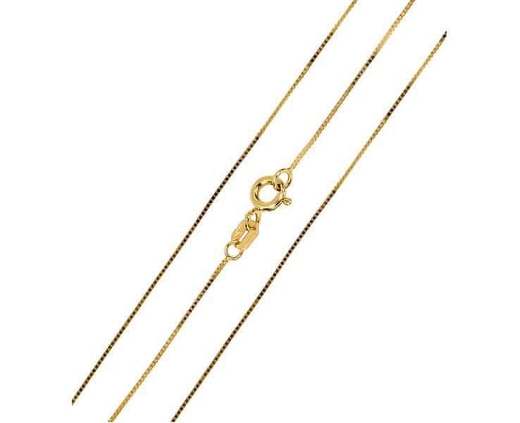 Brilio Luxusní zlatý řetízek (Délka 40 cm)