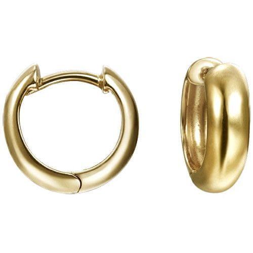 Esprit Stříbrné náušnice kroužky ESPRIT-JW52921 GOLD
