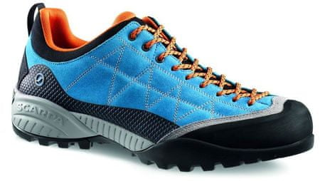 Scarpa moški čevlji Zen Pro, modra/oranžna, 44.5