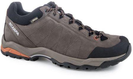 Scarpa moški pohodni čevlji Moraine Plus GTX, sivi, 43