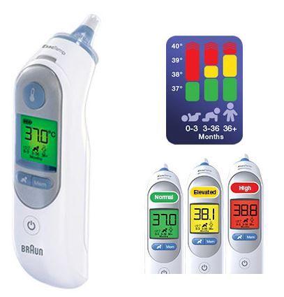 Braun ThermoScan IRT6520 ušesni termometer