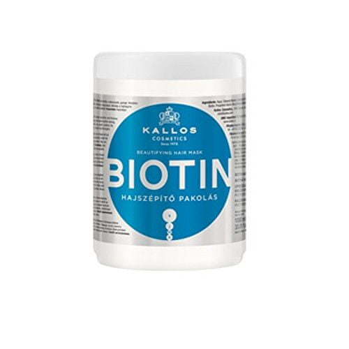 Kallos Maska na vlasy s biotinem (Biotin Beautifying Hair Mask) (Objem 275 ml)