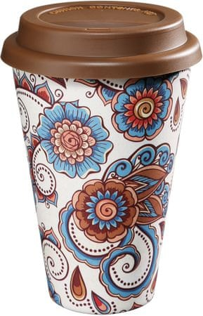Zassenhaus Eco Hrnek Coffee to go Flower