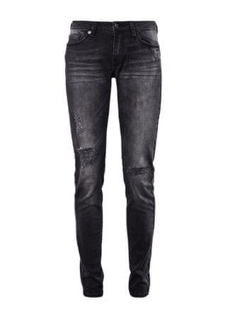 s.Oliver dámské jeansy 36/30 čierna