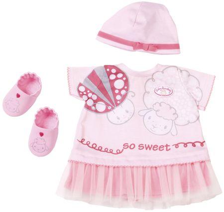Baby Annabell deluxe poletna oblekca