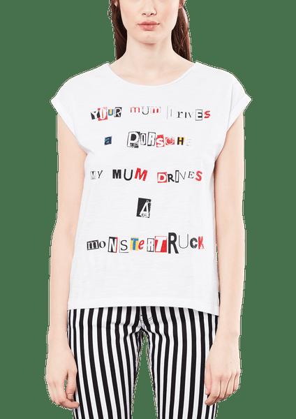 s.Oliver dámské tričko M bílá