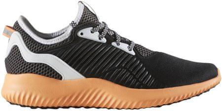 Adidas tekaški copati Alphabounce Lux W, črni/oranžni, 38