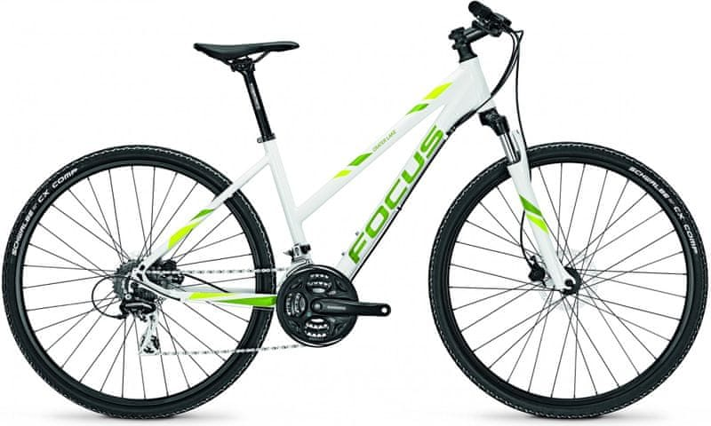 "Focus 28"" TR Crater Lake Lite 24G White/Green 50/M (19,7"")"