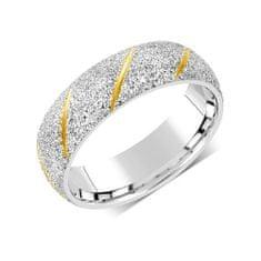 Silvego Snubný prsteň pre mužov aj ženy z ocele RRC22799