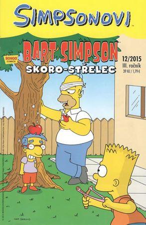 Groening Matt: Simpsonovi - Bart Simpson 12/2015 - Skoro-střelec