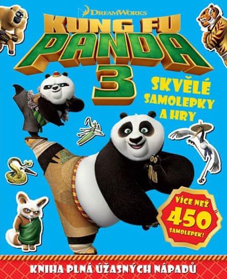 Kung Fu Panda 3 - Skvělé samolepky a hry