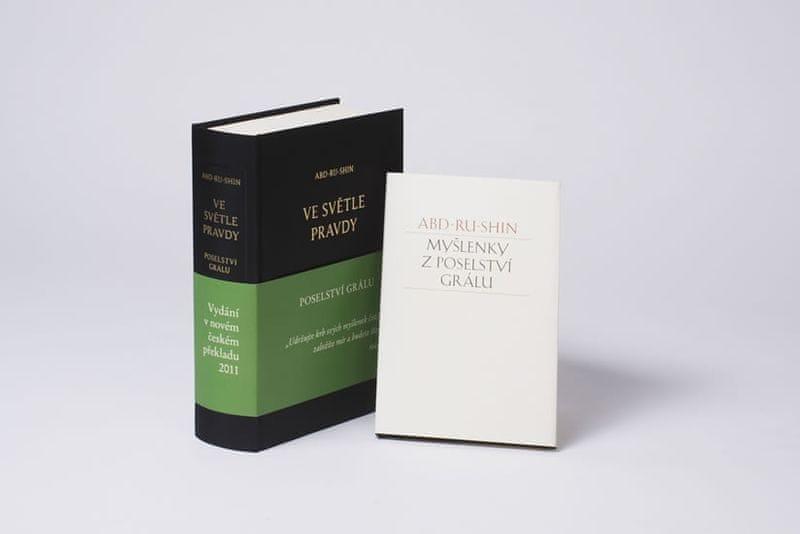 Abd-ru-shin: Ve světle Pravdy - Poselství Grálu + Myšlenky z Poselství Grálu jako dárek zdarma