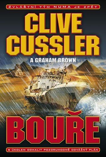 Cussler Clive, Brown Graham,: Bouře