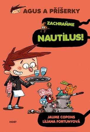 Copons Jaume: Agus a příšerky 2 - Zachraňme Nautilus!
