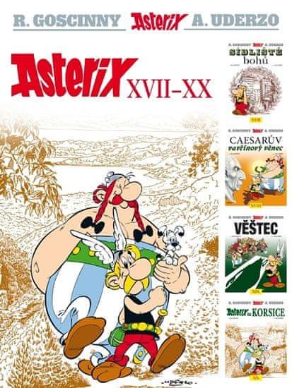 Goscinny R., Uderzo A.,: Asterix XVII - XX