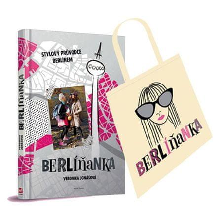 Jonášová Veronika: Berlíňanka - Stylový průvodce Berlínem + taška