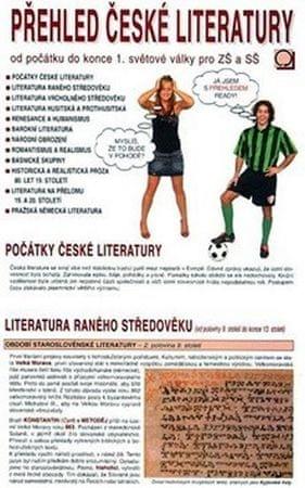 Bradáčová Dagmar: Přehled české literatury - Od počátku do konce 1. světové války pro ZŠ a SŠ