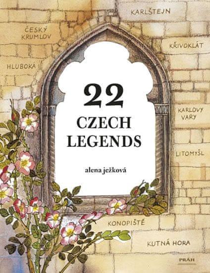 Ježková Alena: 22 Czech Legends / 22 českých legend (anglicky)