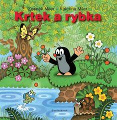 Miler Zdeněk, Miler Kateřina: Krtek a rybka - leporelo