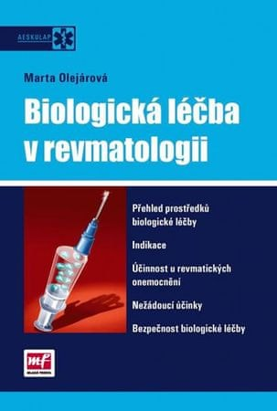 Olejárová Marta, MUDr.: Biologická léčba v revmatologii