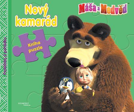 Disney Walt: Máša a medvěd - Nový kamarád (kniha s puzzle)