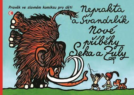 Švandrlík Miloslav: Nové příběhy Seka a Zuly - Pravěk ve slavném komiksu pro děti