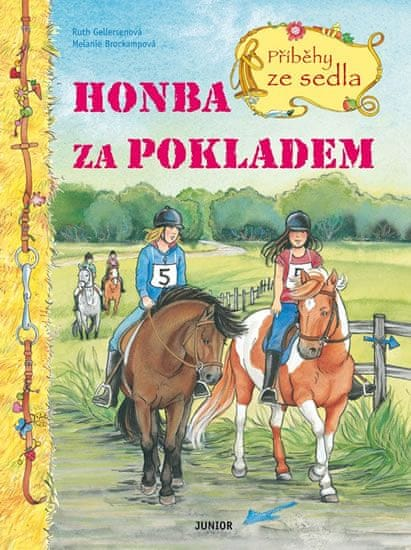 Gellersenová Ruth, Brockampová Melanie: Honba za pokladem - Příběhy ze sedla