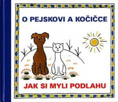 Čapek Josef: O pejskovi a kočičce - Jak si myli podlahu