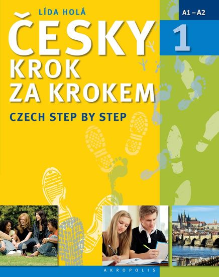 Holá Lída: Česky krok za krokem 1 / Czech Step by Step 1 (Učebnice + klíč + 2 CD)