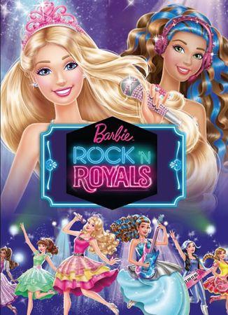 Mattel: Barbie RocknRoyals - Filmový příběh
