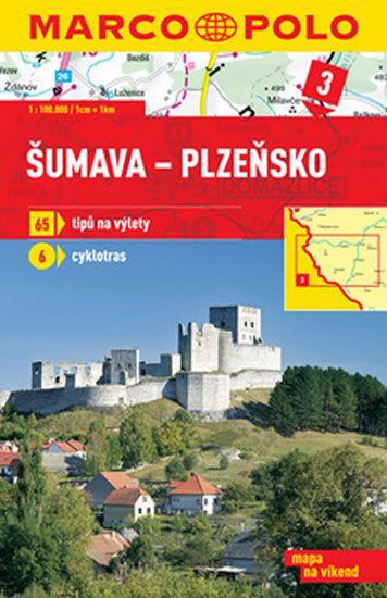 Šumava-Plzeňsko 3 - mapa 1:100 000